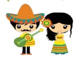 Pistas sobre Mexico para que los niños adivinen la procedencia de esta festividad.